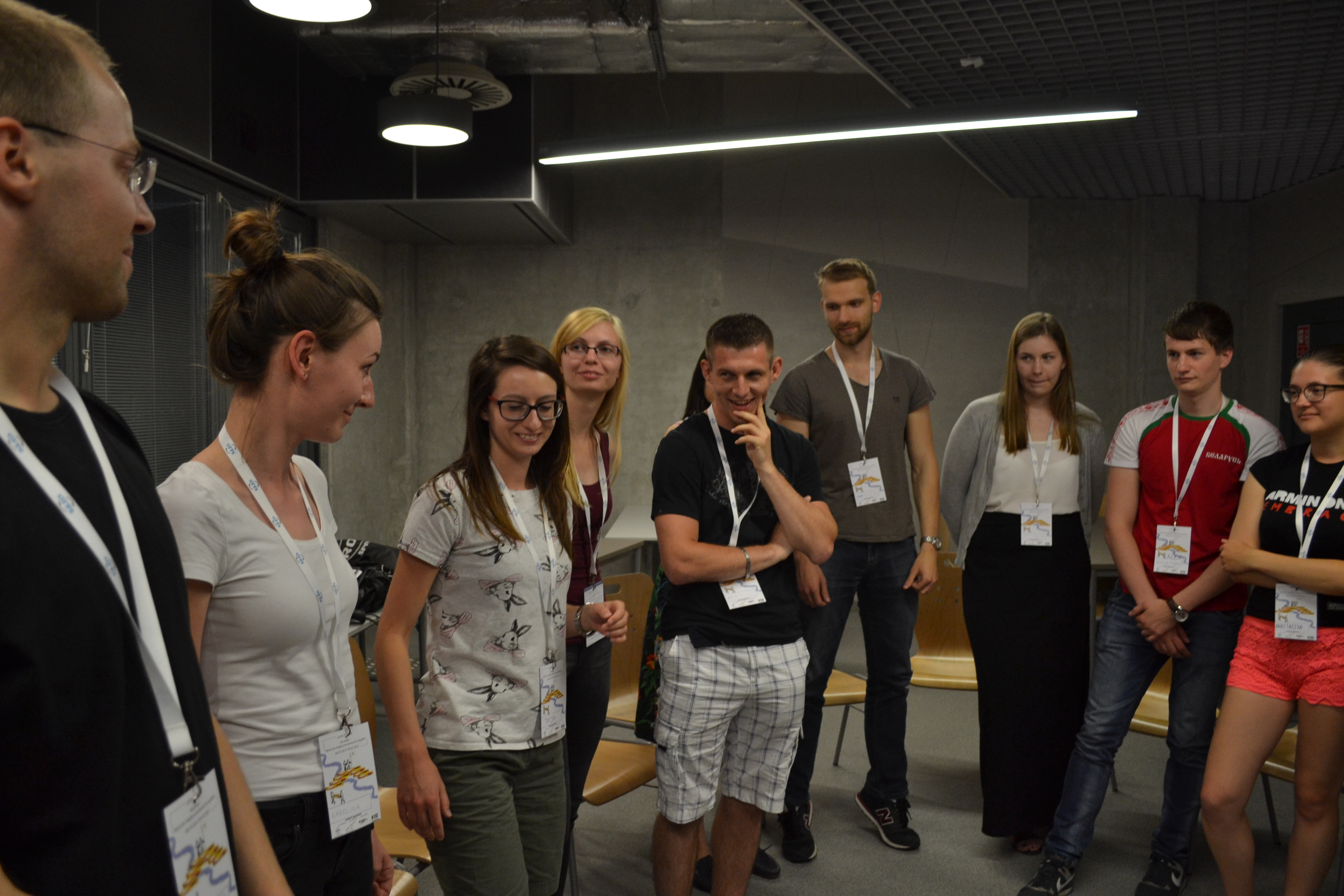 Pierwszy dzień: gry integracyjne. Fot: Asia Baska