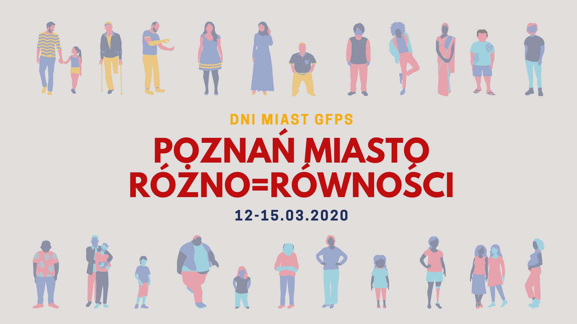 Plakat Dni Miast GFPS Poznań 2020